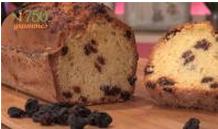 cake rhum raisins
